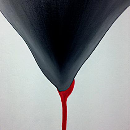 A kehely - 85x70 cm, olaj vásznon
