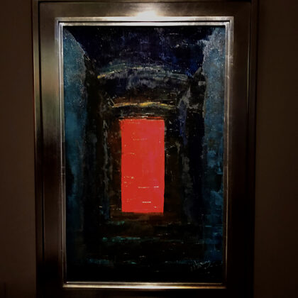 """A vörös ajtó - """"Vörös ajtók"""" terem"""