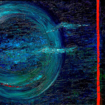 Mercurius - 80x140 cm, olaj vásznon