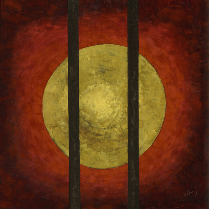 Szabadság - 100x100 cm, olaj vásznon