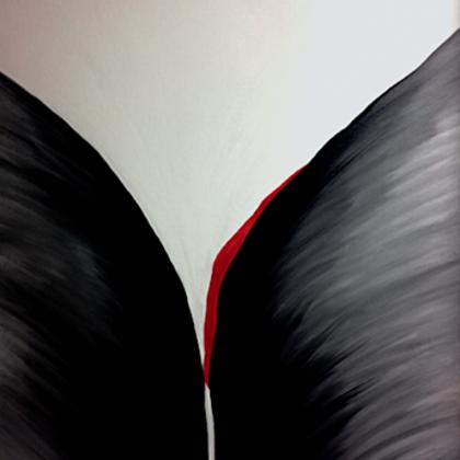 A grál - 85x70 cm, olaj vásznon