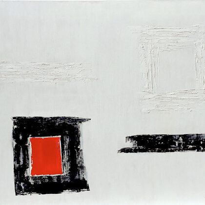Contrasts - 80x90 cm, oil canvas