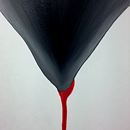The calice - 85x70 cm, oil canvas