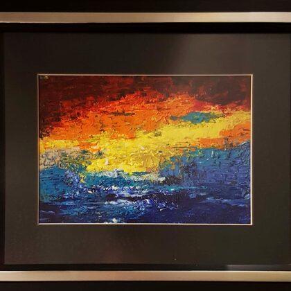 Italy-study - 20x28 cm, oil paper