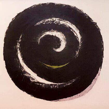 Karma (2012) - 90x130 cm, oil canvas