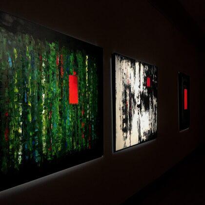 """Esőerdő - A pillanat - Ajtó   -   """"Vörös ajtók"""" terem"""