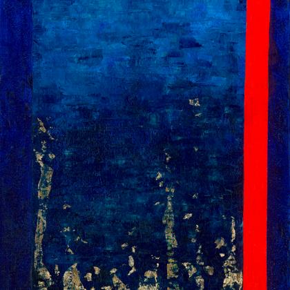 Napkapu 1 - 80x60 cm, olaj és arany vásznon