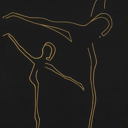 Ré - 130x70 cm, olaj vásznon