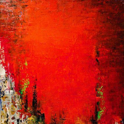 Vágy - 100x60 cm, olaj vásznon