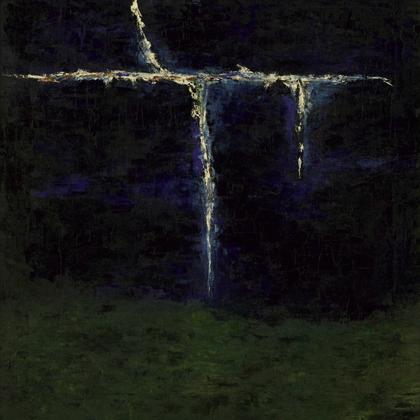 Vihar (2010) - 80x80 cm, olaj vásznon