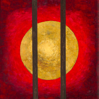 Freedom - 100x100 cm, oil canvas