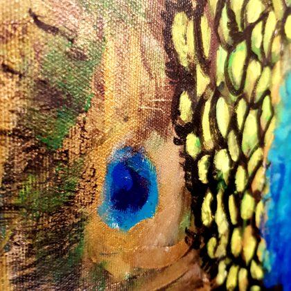 Peacock - detail