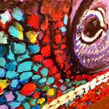 Chameleon - detail