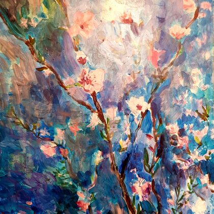 Sakura - 70x50 cm