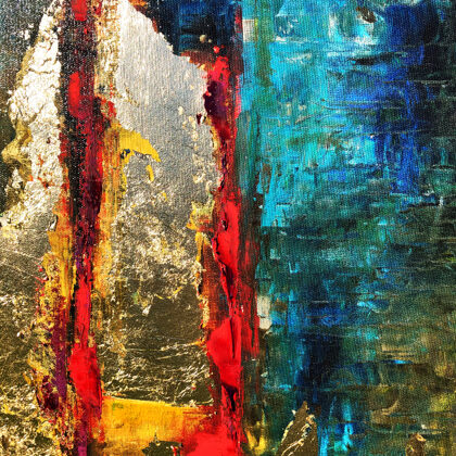 MM Towers of Babel - 100x83 cm - detail