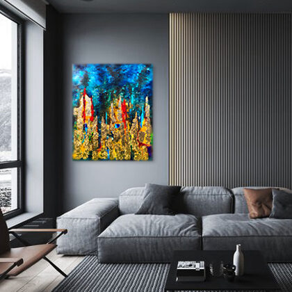 MM Towers of Babel - 100x83 cm - interior (edited photo)