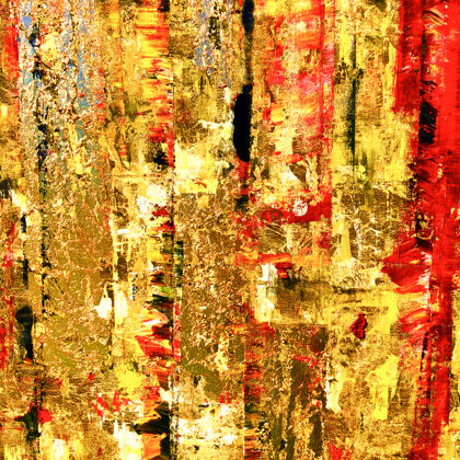 MM Babylon's gold - 100x64 cm - detail