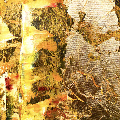 MM Babylon's gold - 160x140 cm - detail