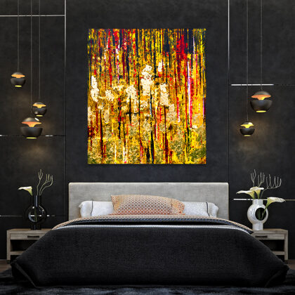 MM Babylon's gold - 160x140 cm - interior (edited photo)