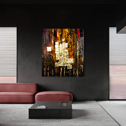MM Palaces of Babylon - 160x140 cm - interior (edited photo)