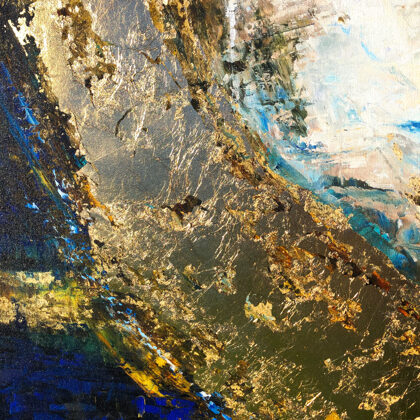 MM The seventh day - 140x140 cm - detail