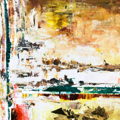 MM The beginning of time - 120x120 cm - detail