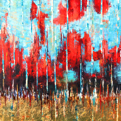 MM The story of forever - 140x120 cm