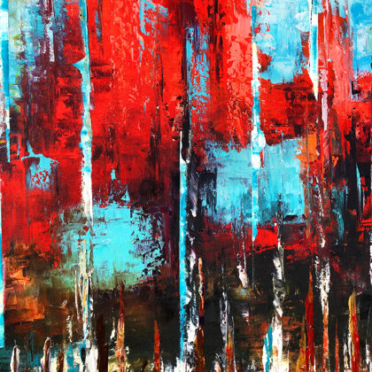 MM The story of forever - 140x120 cm - detail