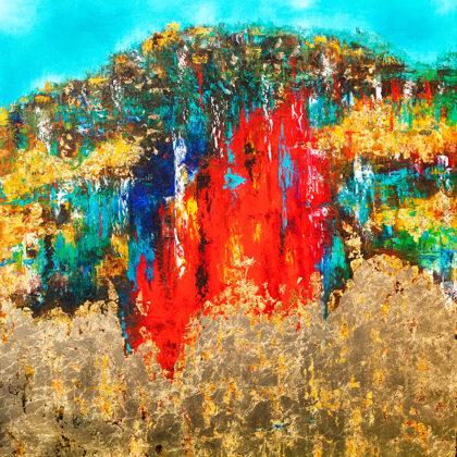 MM Garden of Eden - 140x120 cm