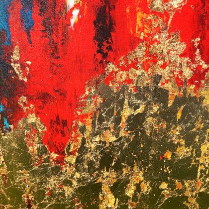 MM Garden of Eden - 140x120 cm - detail
