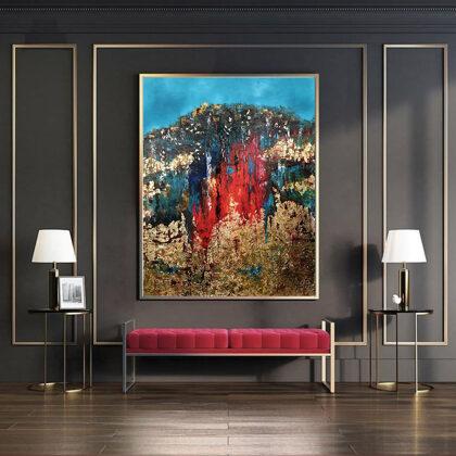 MM Garden of Eden - 140x120 cm - interior (edited photo)