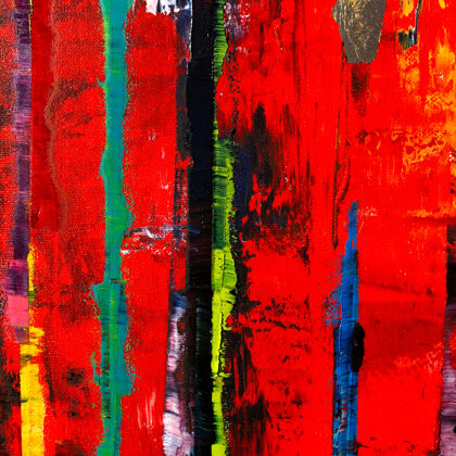 MM ...and God blessed the Earth - 120x120 cm - detail