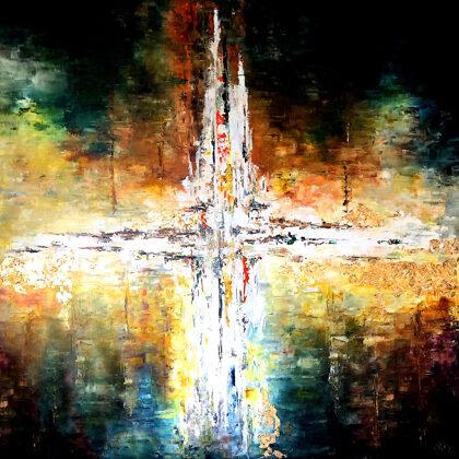 Az Idő eleje - 120x120 cm
