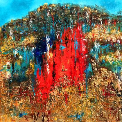 Garden of Eden - 120x100 cm