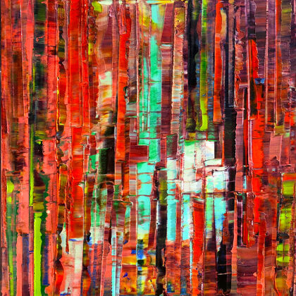 The Sacred Tabernacle - 46x38 cm
