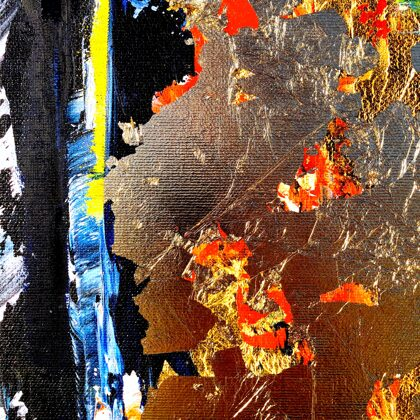"""""""...And God Blessed the Earth"""" - detail"""