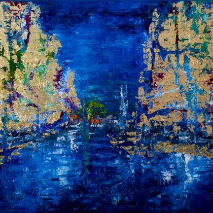Ice sails - 65x80 cm