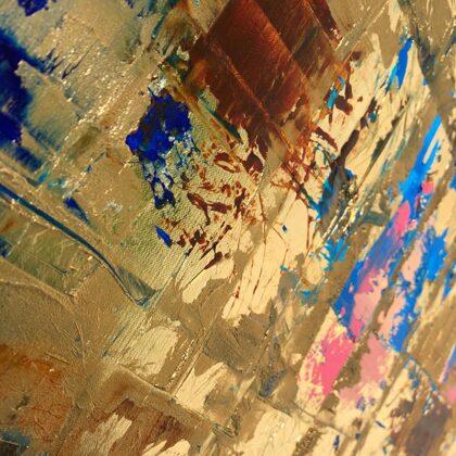 Blue-Matrix - detail