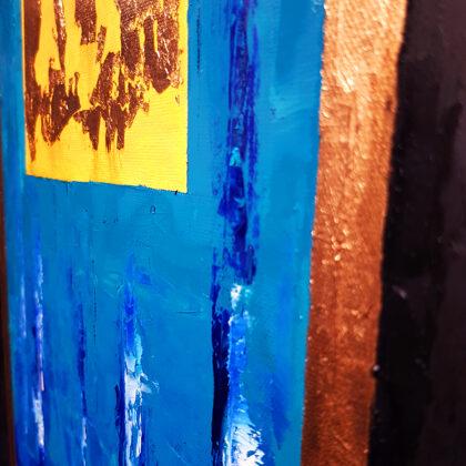 Yellow submarine - detail