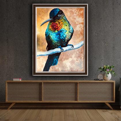 Hummingbird - interior (edited photo)